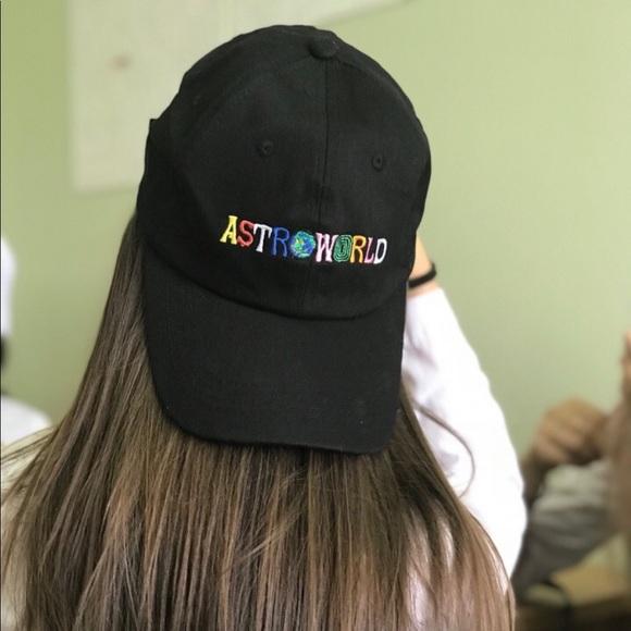 292cf483 Accessories | Nwt Astroworld Fest Travis Scott Dad Hat Houston ...